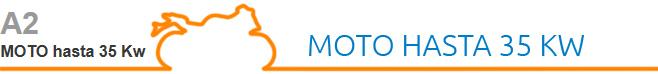 A2 Moto hasta 35 Kw