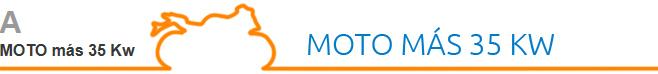 A Moto más 35 kw